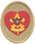 Boy Scout Life Patch